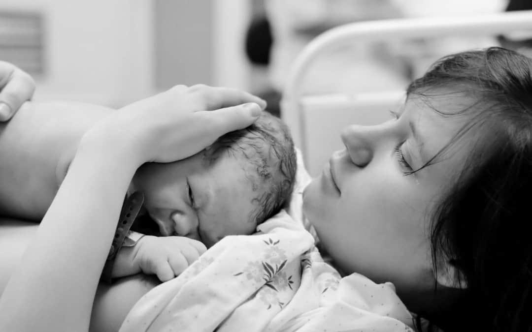 Waarom liet ik alles gelaten over me heen komen tijdens de bevalling?