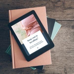 Gratis e-book, bang voor bevalling